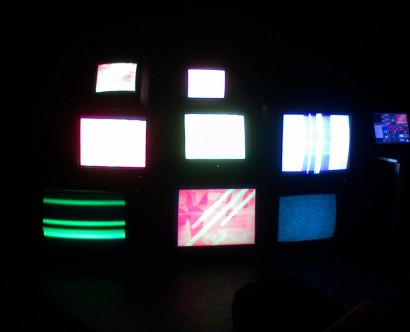 Wall of TV